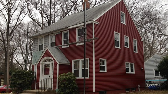 market square hollow back vinyl siding